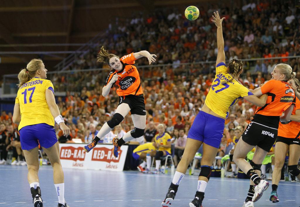 19-07-2016: Handbal: Dames 4 Landen Toernooi: Nederland-Zweden: Eindhoven    Foto: Edwin Verheul
