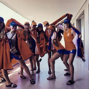 Nederlands Damesteam Oefent Tegen Brazilië In RIO