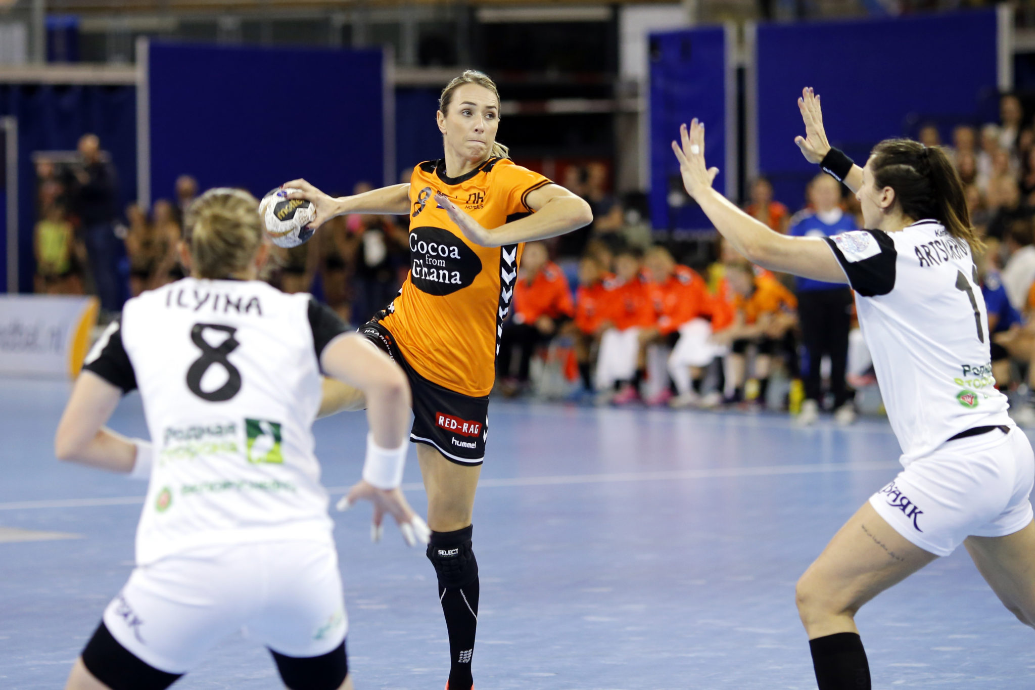27-09-2017: Handbal: EK Kwalificatie: Nederland-Wit Rusland: Eindhoven    Foto: Edwin Verheul