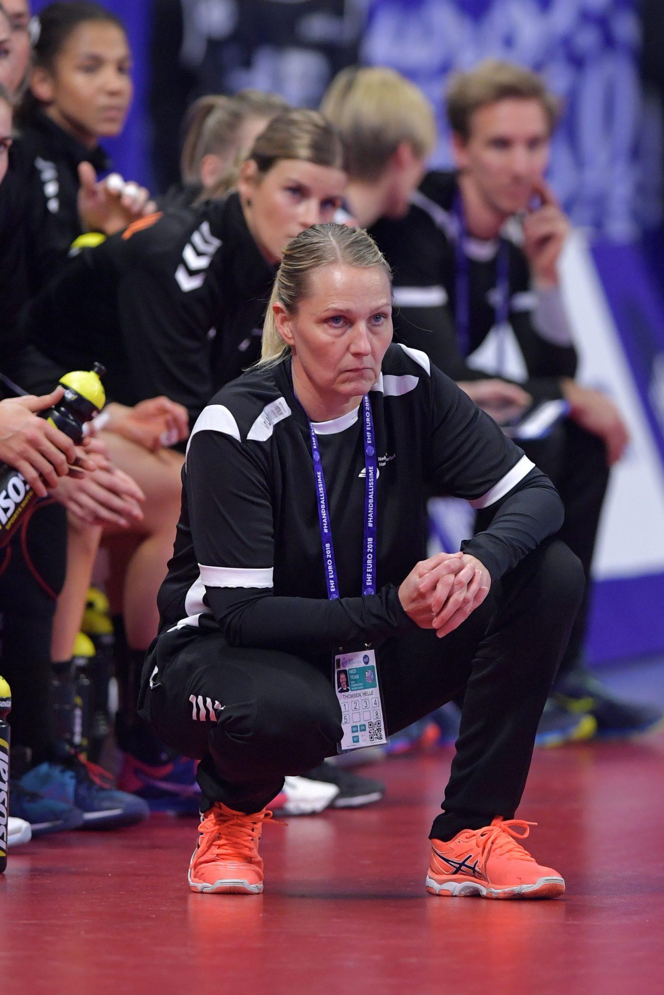 11-12-2018: Handbal: Vrouwen Nederland V Noorwegen: Nancy EK Handbal In Frankrijk, Hoofdronde Groep II Nederland - Noorwegen Coach Helle Thomsen NED