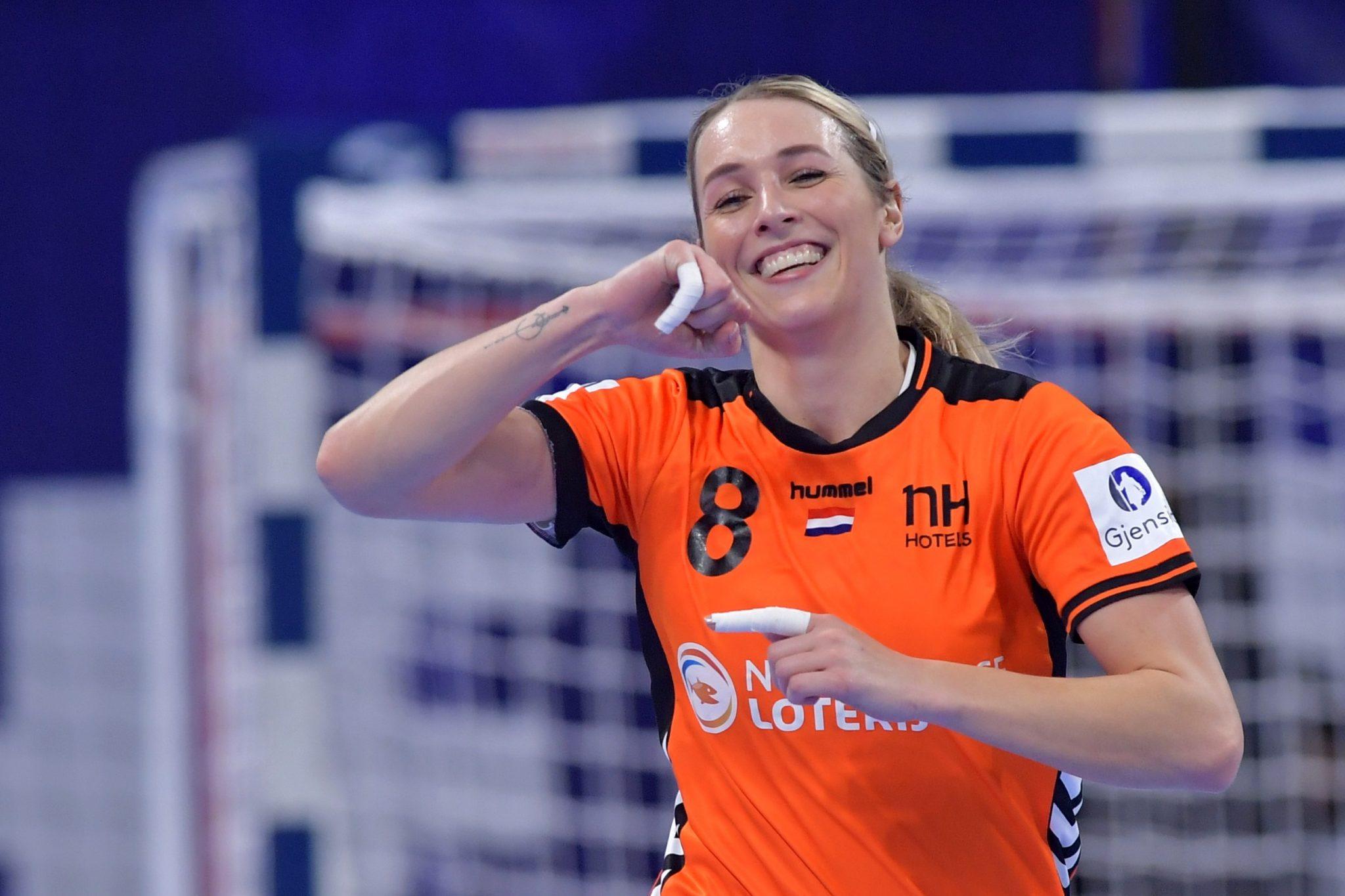12-12-2018: Handbal: Vrouwen Nederland V Duitsland: Nancy EK Handbal In Frankrijk, Hoofdronde Groep II Nederland - Duitsland Lois Abbingh #8 NED