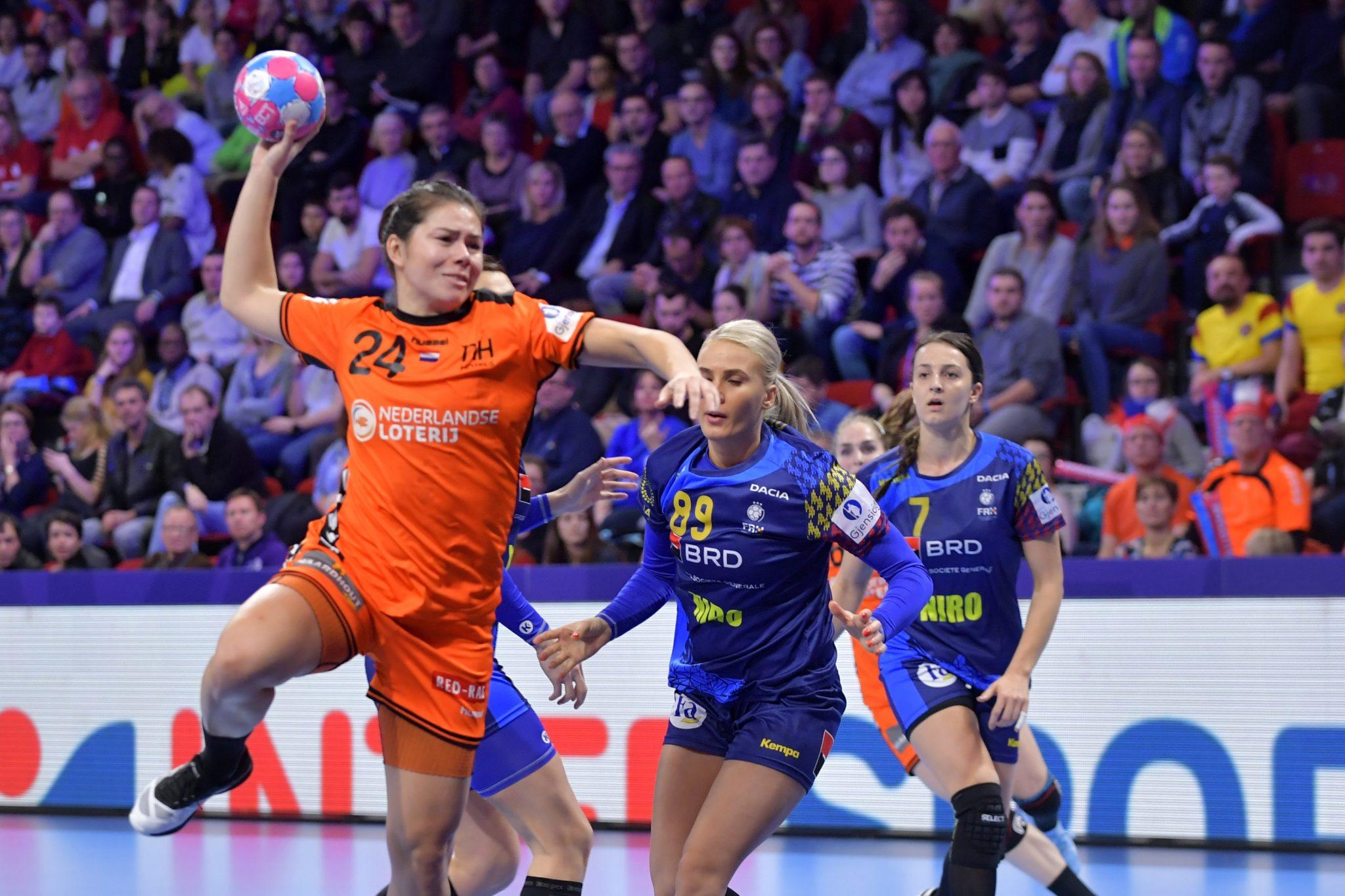 09-12-2018: Handbal: Vrouwen Nederland V Roemenie: Nancy EK Handbal In Frankrijk, Hoofdronde Groep II Nederland - Roemenie Martine Smeets #24 NED