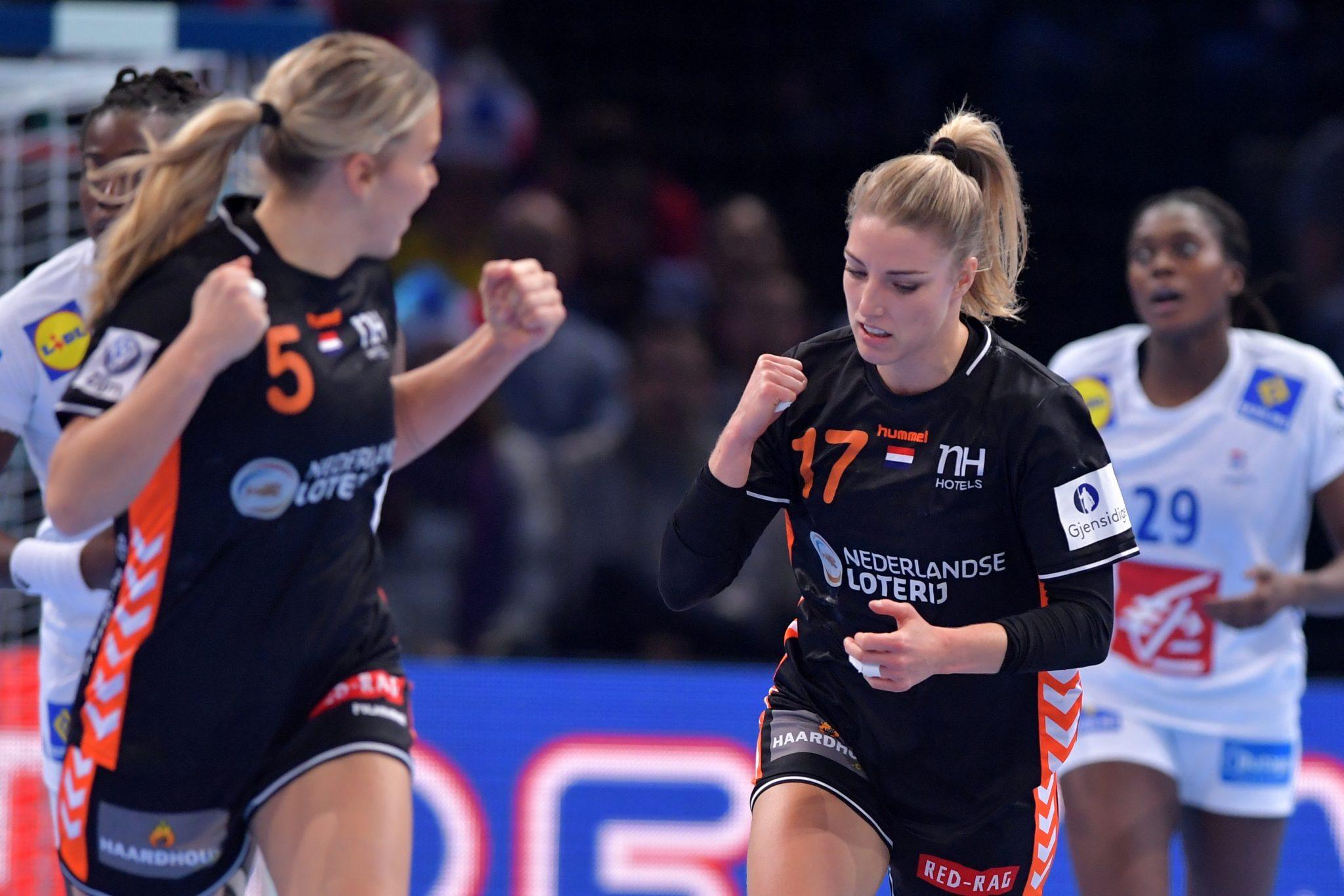 14-12-2018: Handbal: Vrouwen Nederland V Frankrijk : Parijs EK Handbal In Frankrijk, 1/2 Finale Nederland-Frankrijk