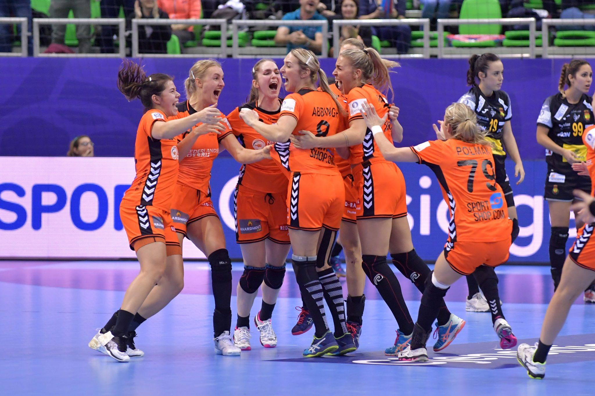 Handbal Dames Winst Tegen Spanje