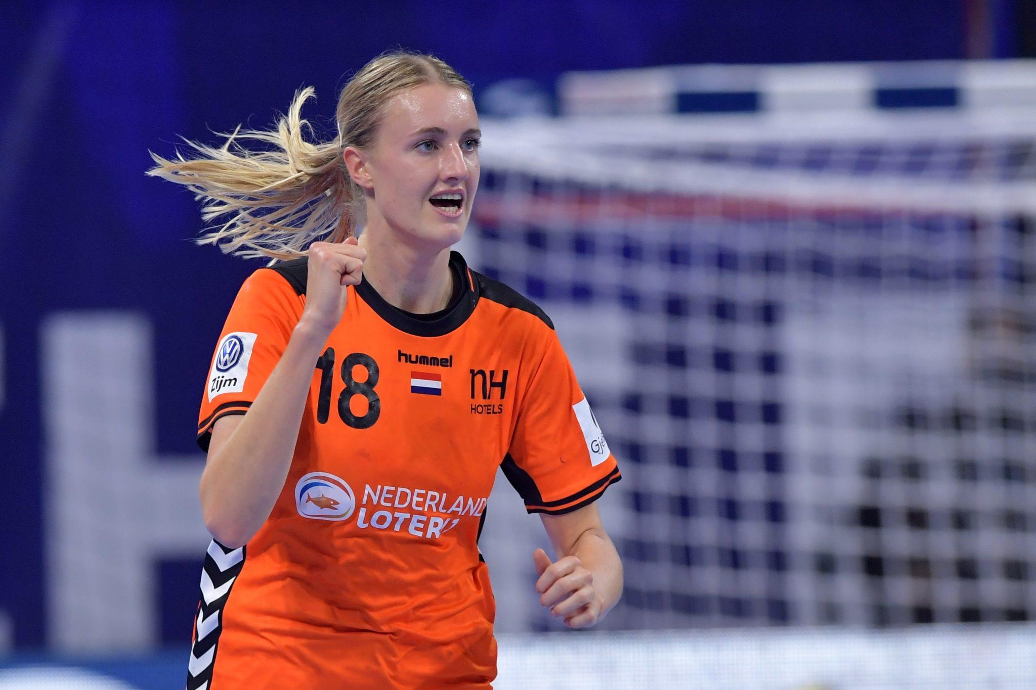 12-12-2018: Handbal: Vrouwen Nederland V Duitsland: Nancy EK Handbal In Frankrijk, Hoofdronde Groep II Nederland - Duitsland Kelly Dulfer #18 NED