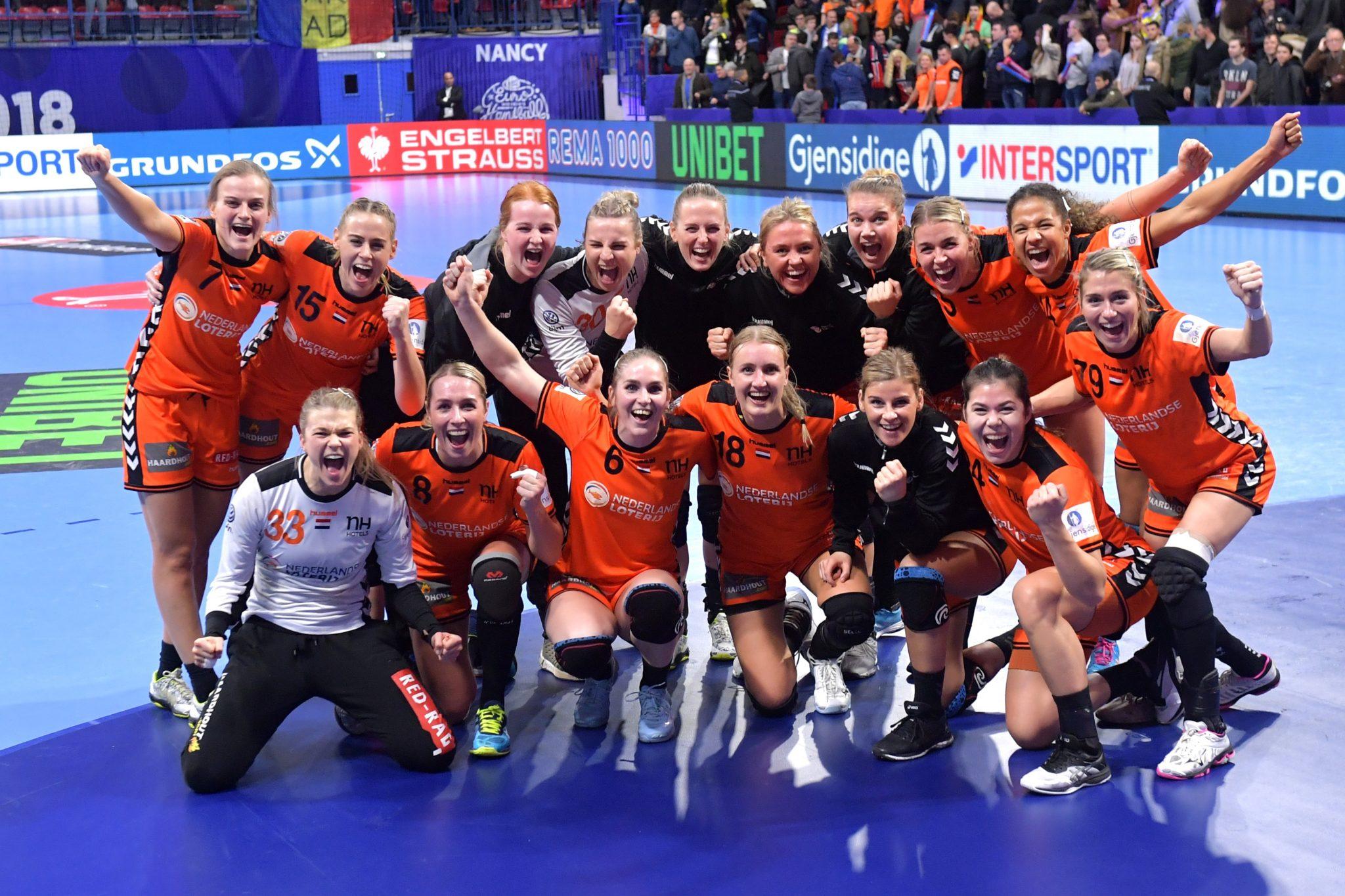 09-12-2018: Handbal: Vrouwen Nederland V Roemenie: Nancy EK Handbal In Frankrijk, Hoofdronde Groep II Nederland - Roemenie 29-24 De Overwinningsfoto