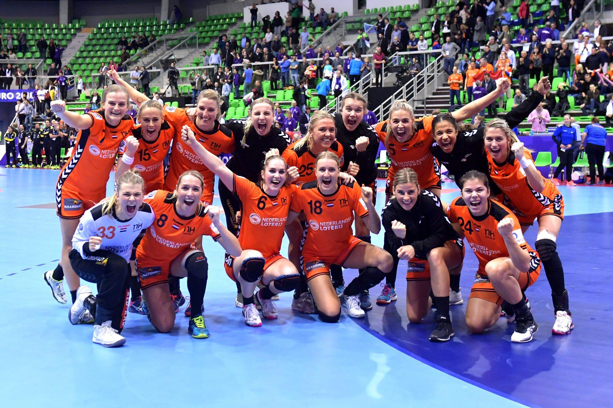 03-12-2018: EK Handbal Vrouwen: Nederland V Spanje: MontBeliard EK Handbal In Frankrijk, Voorronde Groep C Nederland - Spanje De Overwinning Is Binnen