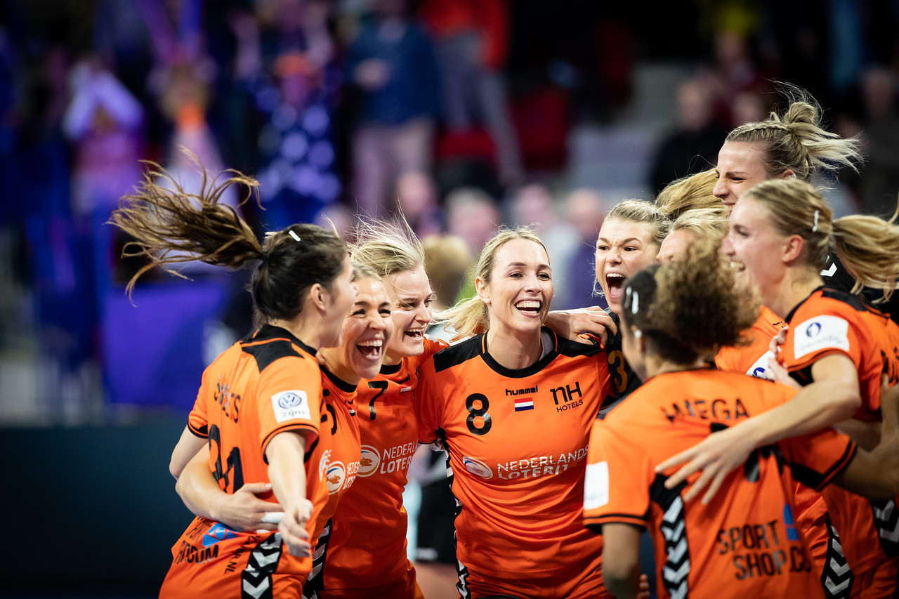 Women's EHF EURO 2018, Main Round Game -  Group II - Netherlands - Germany In Palais Des Sports Jean Weille Nancy, Nancy, France 12.12.2018. Mandatory Credit © Jozo Cabraja / Kolektiff