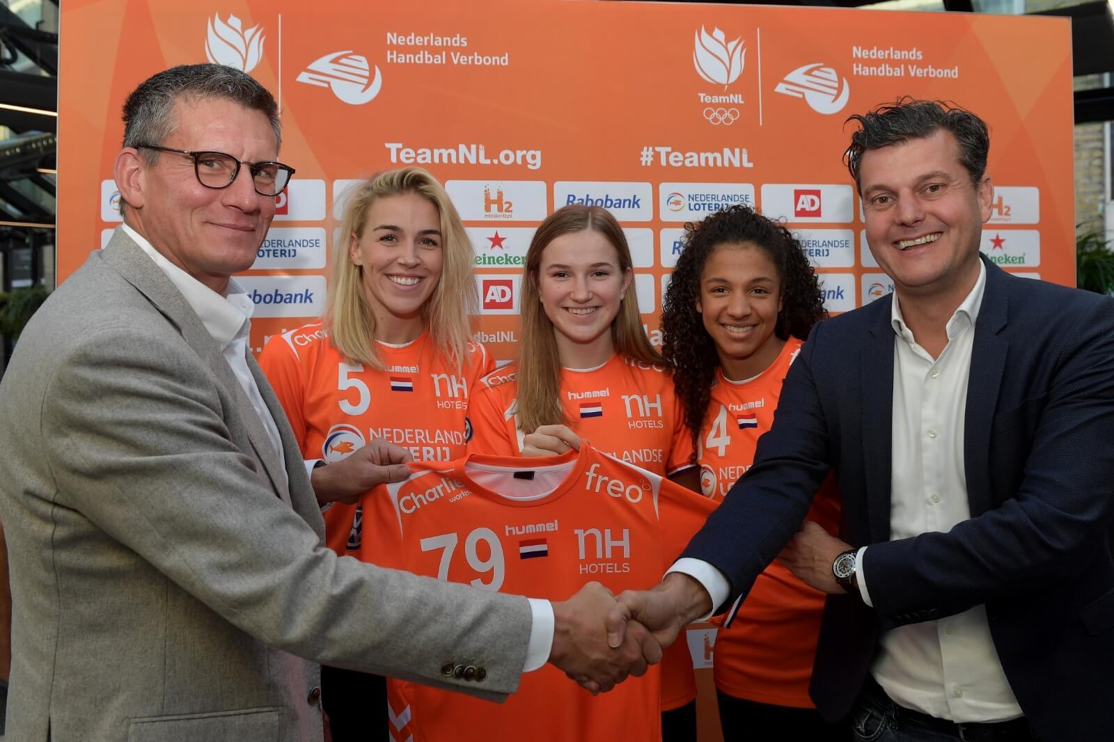 Freo Nieuwe Shirtsponsor Van TeamNL Handbaldames