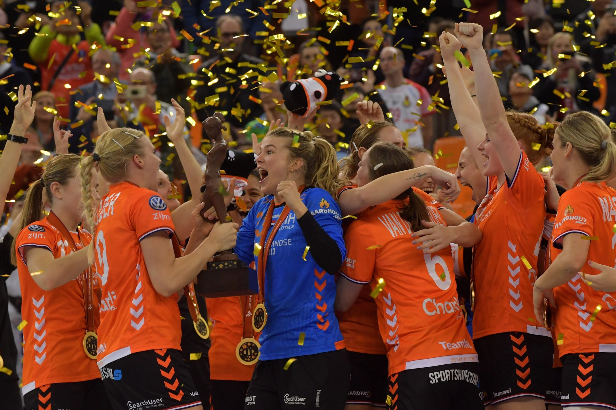 15-12-2019 HANDBAL:NEDERLAND-SPANJE:KUMAMOTO Final WORLD CHAMPION