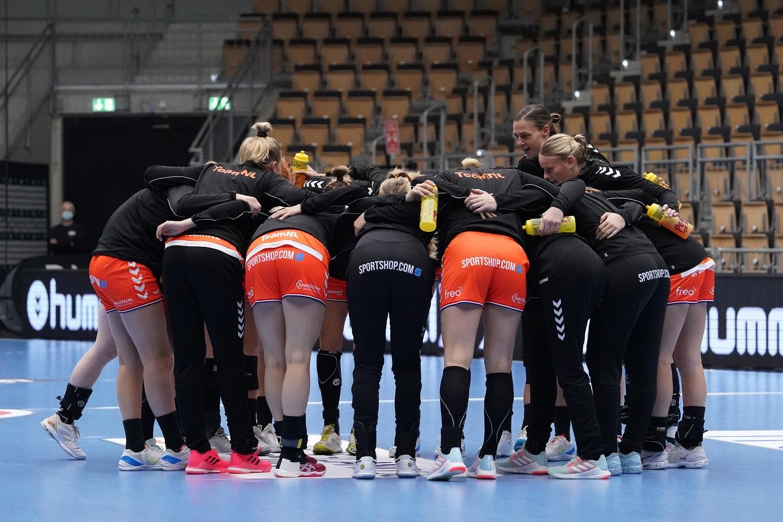 3-10-2020 HANDBAL:NEDERLAND-DUITSLAND:LINGEN Oefenwedstrijd 2 Nederlands Team