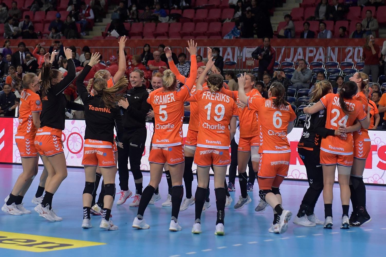 06-12-2019 HANDBAL:NEDERLAND-NOORWEGEN:KUMAMOTO IHF Worldcup Japan Nederland Wint Sinds 20 Jaar Weer Van Noorwegen