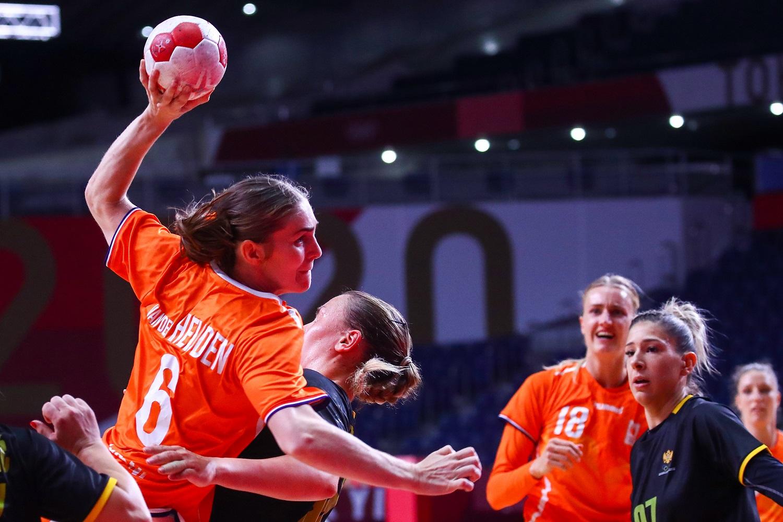 TeamNL Handbaldames Winnen Laatste Poulewedstrijd Van Montenegro